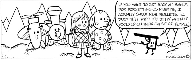 misfits coloring pages | Medium Large Comic: The Island of Misfit Toys Edition ...