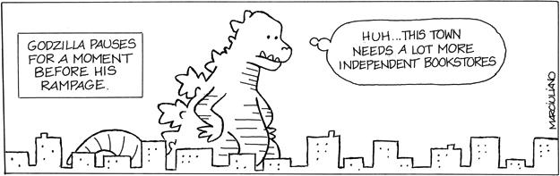 Godzilla Bookstores