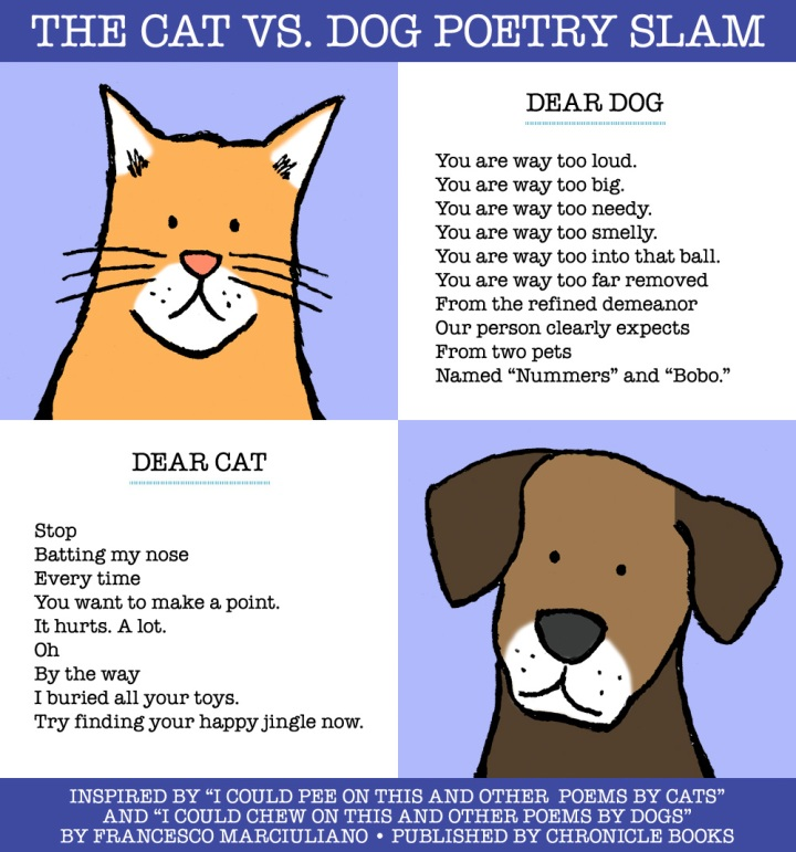 Cat Dog Poetry Slam 3