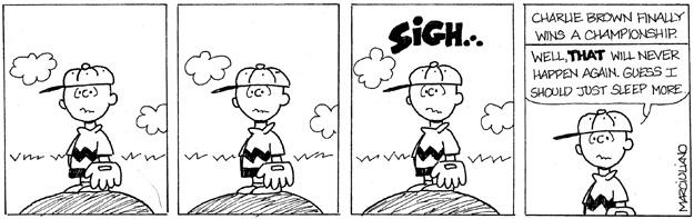 Peanuts Win Sigh