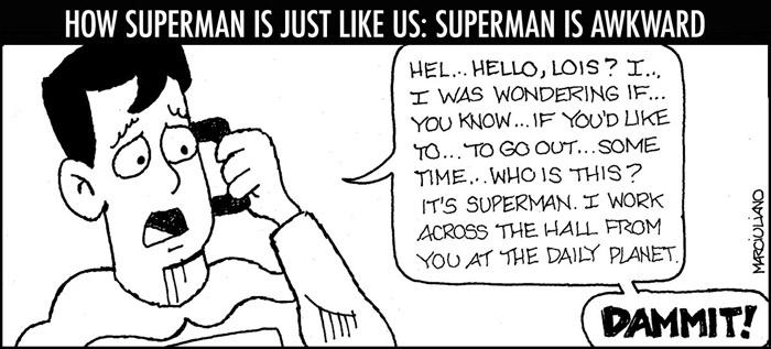 Superman Awkward Small