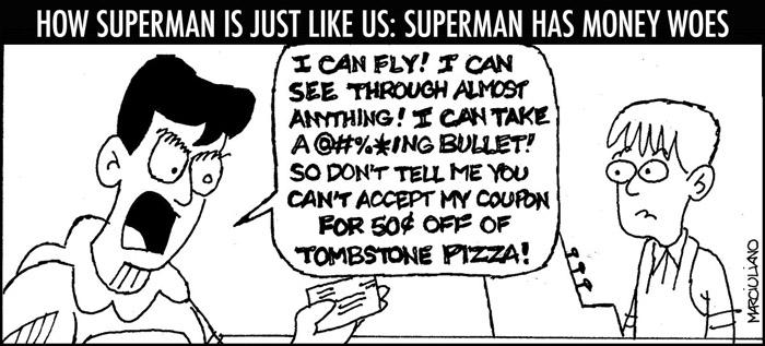 Superman Coupon Small