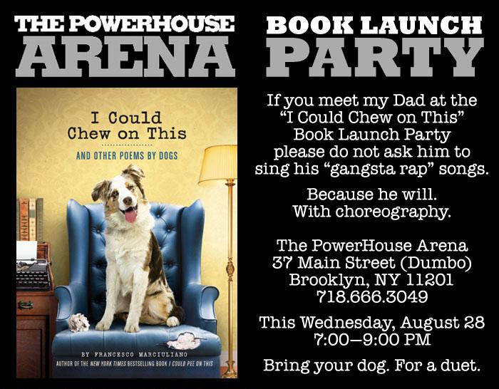 PowerHouse Dad Rap Invite