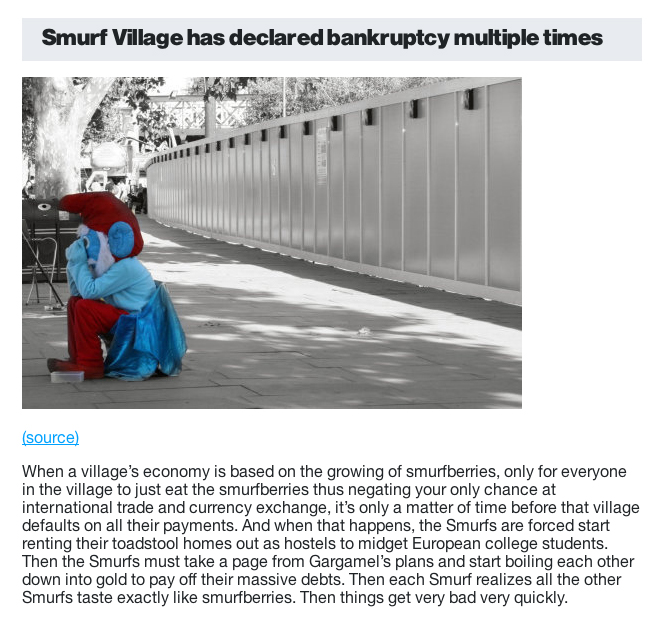 Smosh Sample Smurf Village