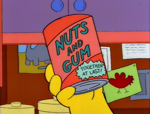 nuts-and-gum-simpsons