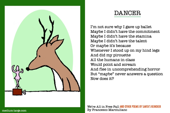 Reindeer Dancer Poem