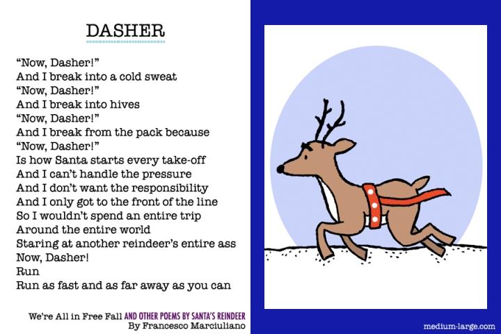 Reindeer Dasher Poem