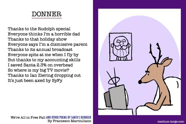 Reindeer Donner Poem