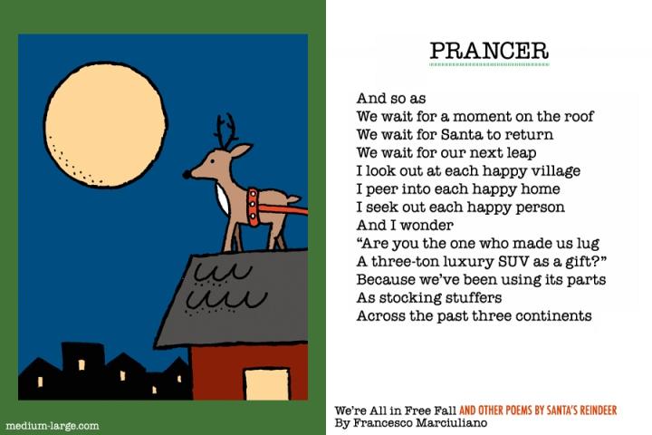 Reindeer Prancer Poem