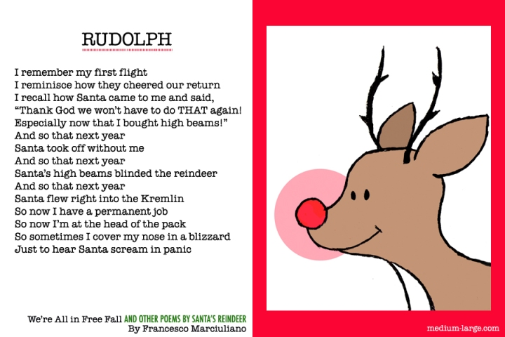 Reindeer Rudolph Poem