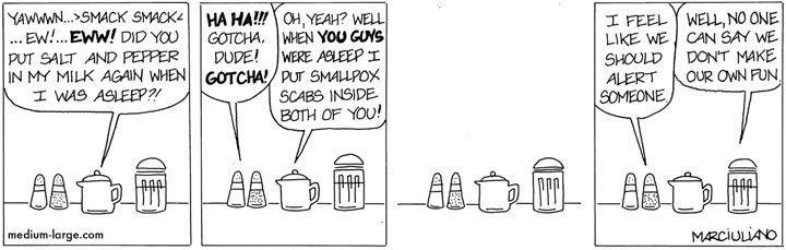 Condiment Trouble Small