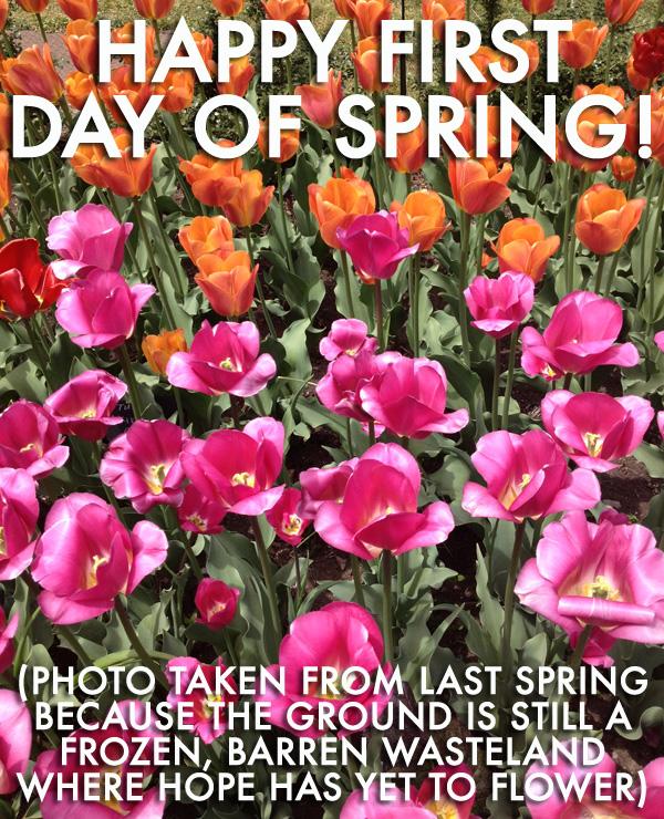 Happy Spring 2014 Card