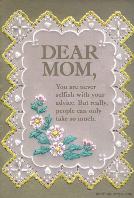 Mom Card 15