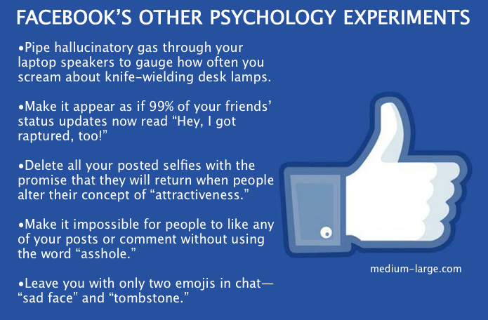 Facebook Psych Experiments