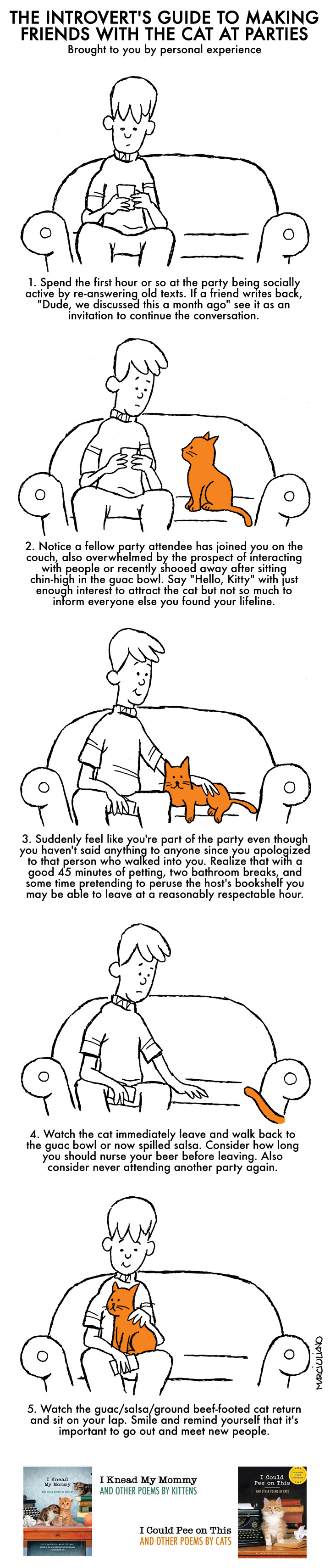 Introvert's Guide to Cats Color