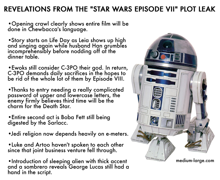 Star Wars Plot Leaks