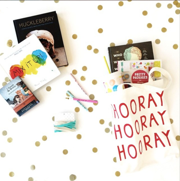 Chronicle Books Instagram Giveaway