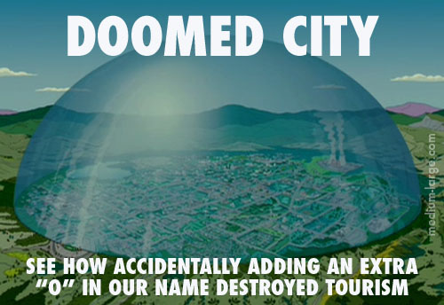 Doomed City Future Postcard