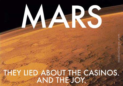 Mars Future Postcard