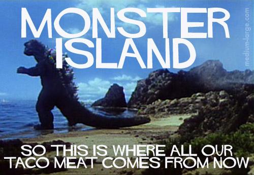 Monster Island Future Postcard