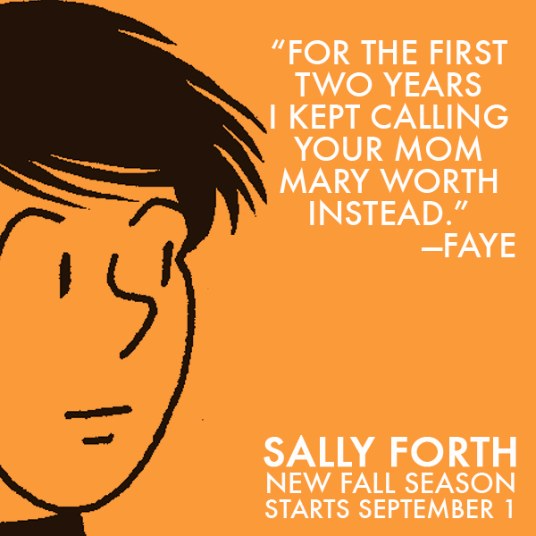 Sally Forth Faye TV Ad