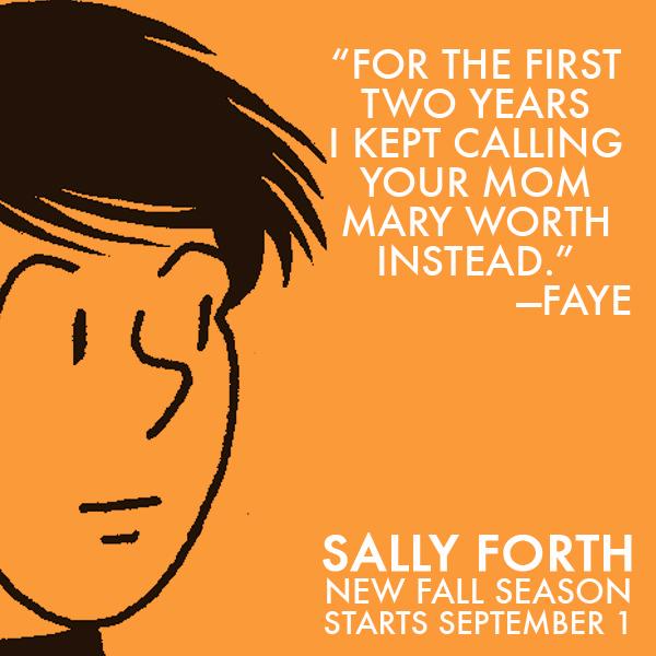 Sally Forth Faye TV Ad