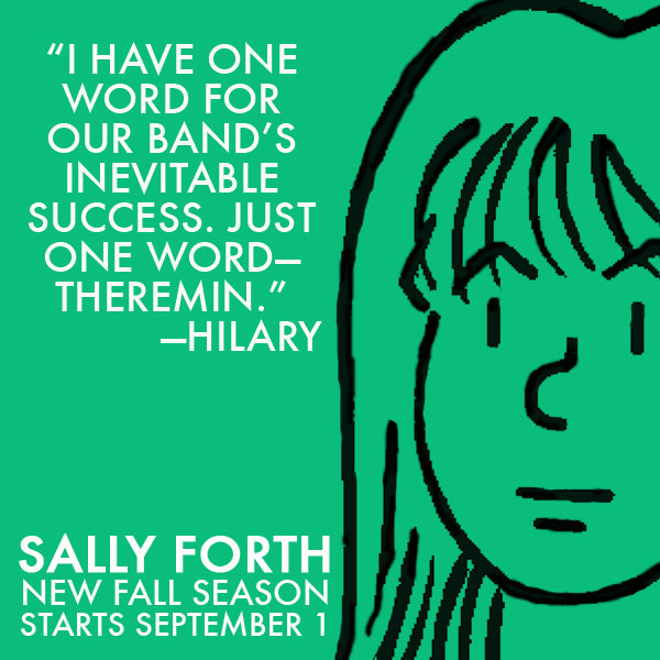 Sally Forth Hilary Ad