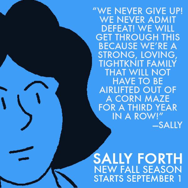 Sally Forth Sally TV Ad