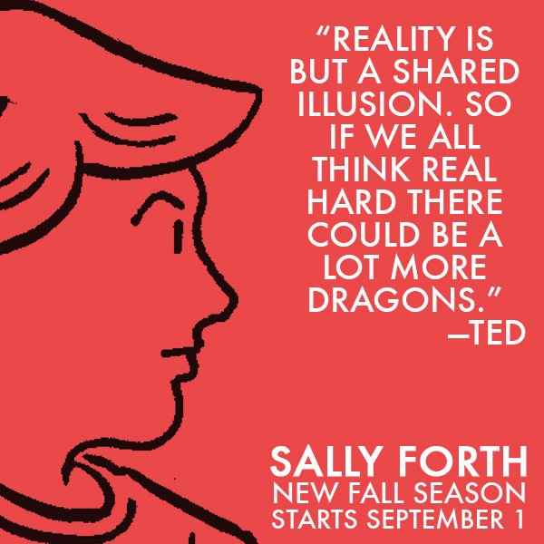 Sally Forth Ted TV Ad