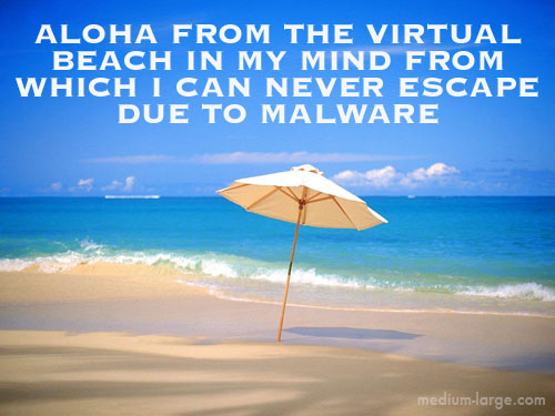 Virtual Beach Future Postcard