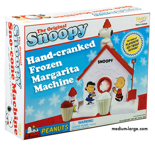 Honest Snoopy Sno Cone