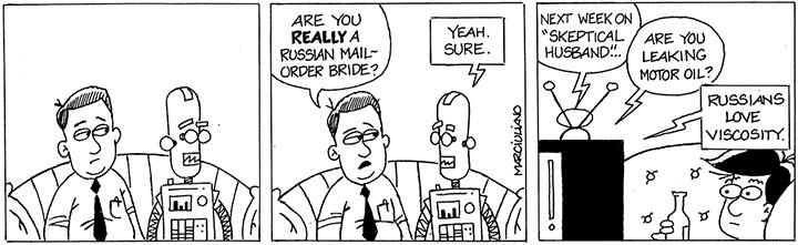 Russian Robot Bride Small