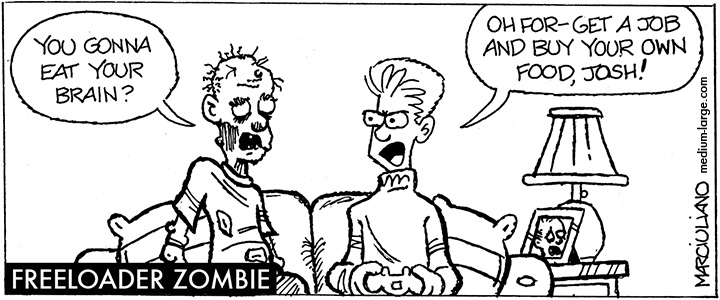 Freeloader Zombie Small