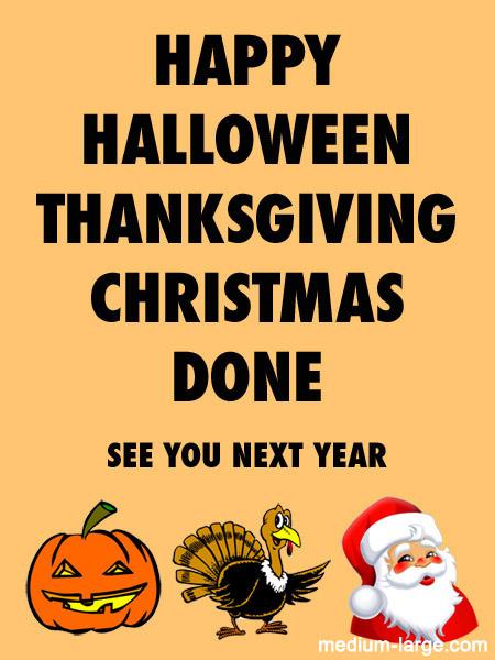 Halloween All Seasons Card