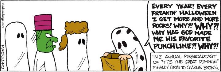 Halloween Peanuts Rock Color