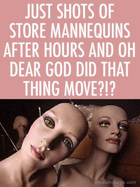 Horror Mannequin