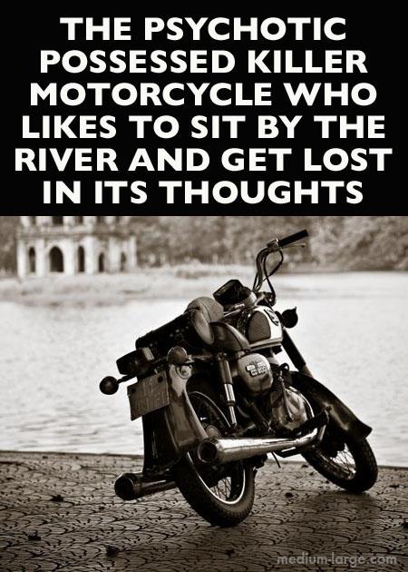 Horror Motorcycle