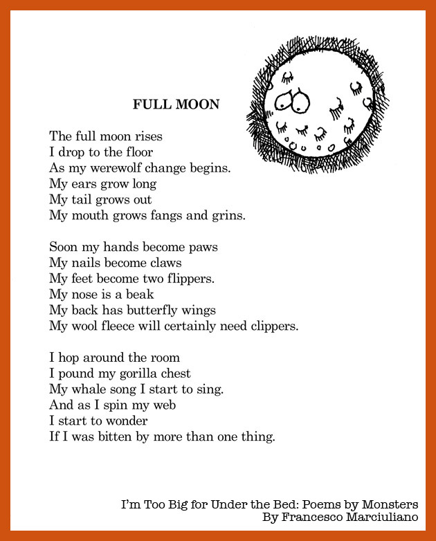 Monster Full Moon Poem
