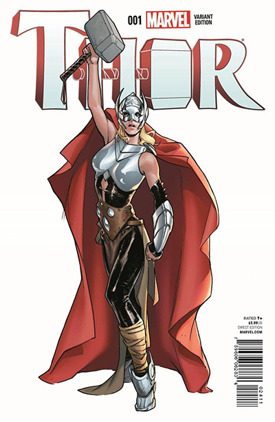 Thor Comic Cover