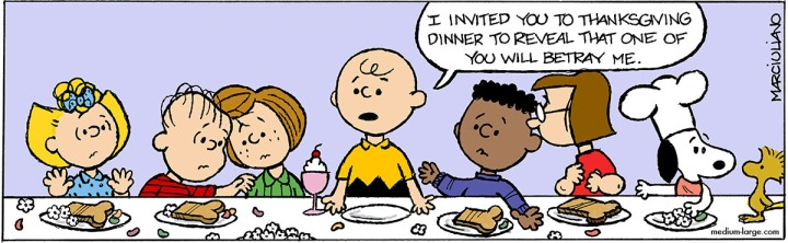 Peanuts Last Supper Color 1200