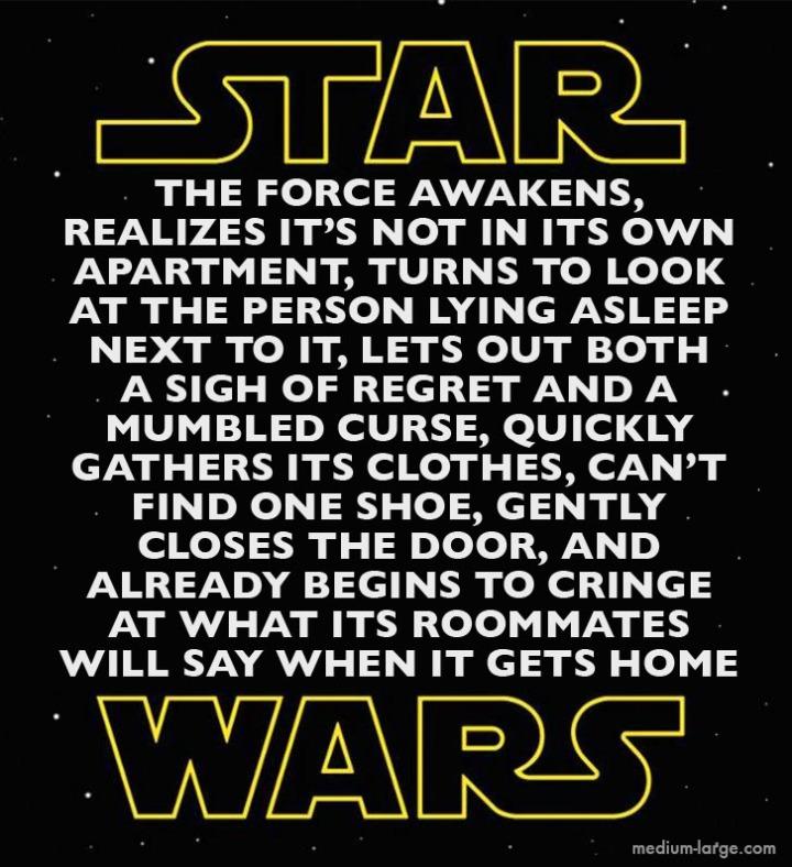 Star Wars Force Awakens Full Title