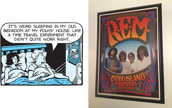 Ted R.E.M. Panel Poster