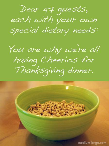 Thanksgiving Cheerios