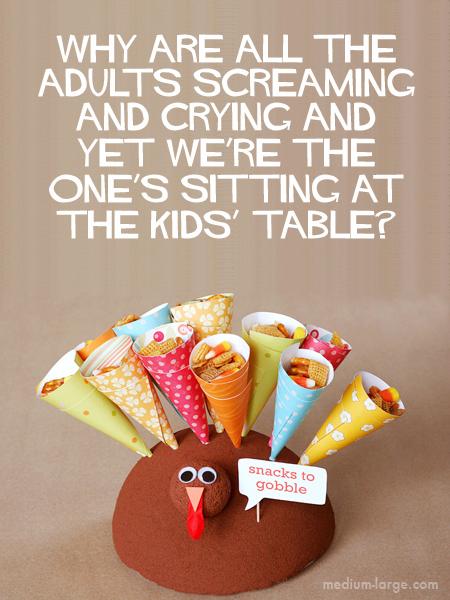 Thanksgiving Screaming