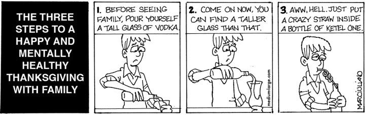 Thanksgiving Vodka 1200