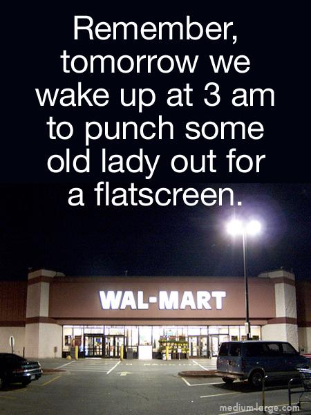 Thanksgiving Walmart