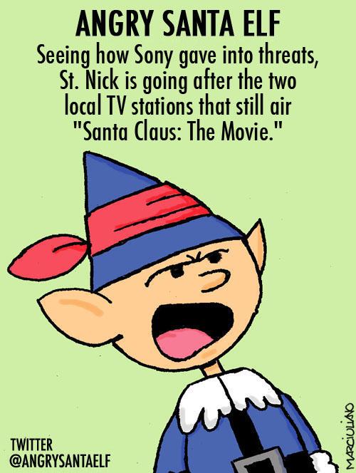 Angry Santa Elf Sony