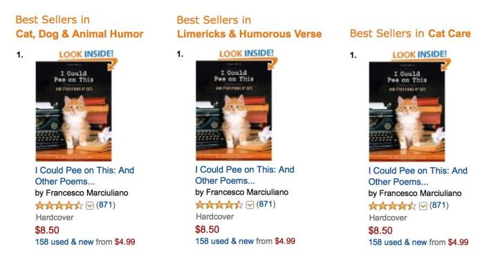 ICPOT Bestsellers Row