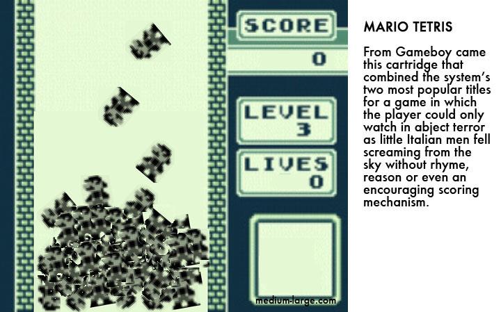 Mario Tetris Videogame 2