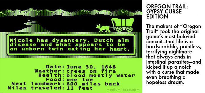 Oregon Trail Videogame 2